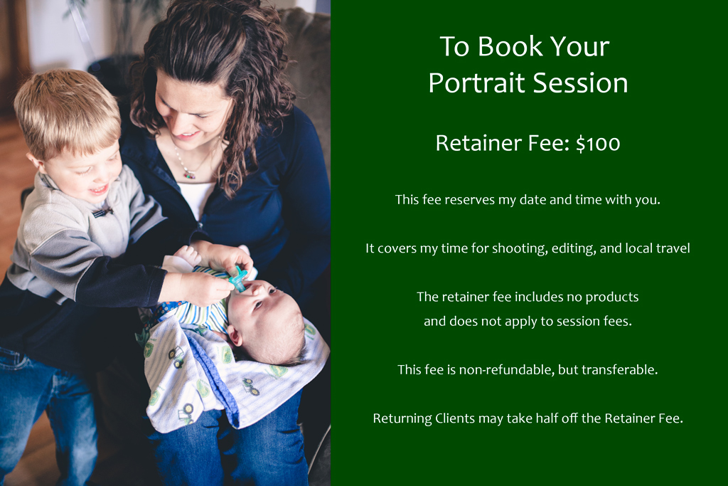 Gretchen Willis Photography Pricing