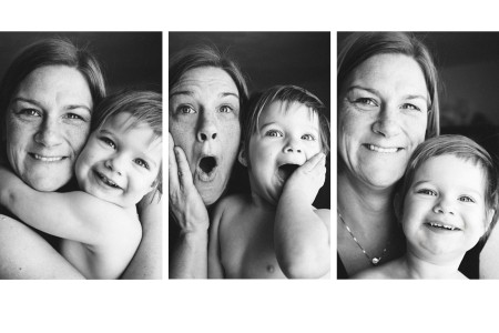Photo of Gretchen and Daughter