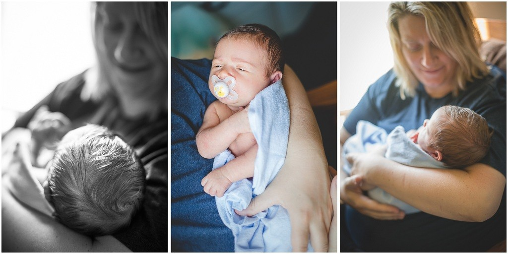 baby portraits in-home lifestyle newborn