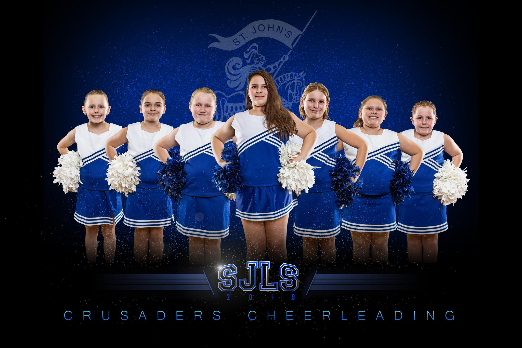 Cheer Team photo pose