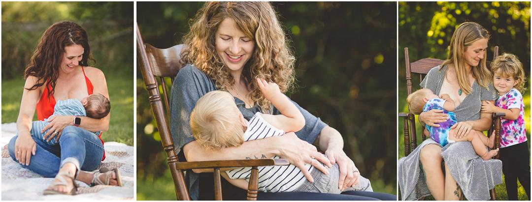 Breastfeeding Photography
