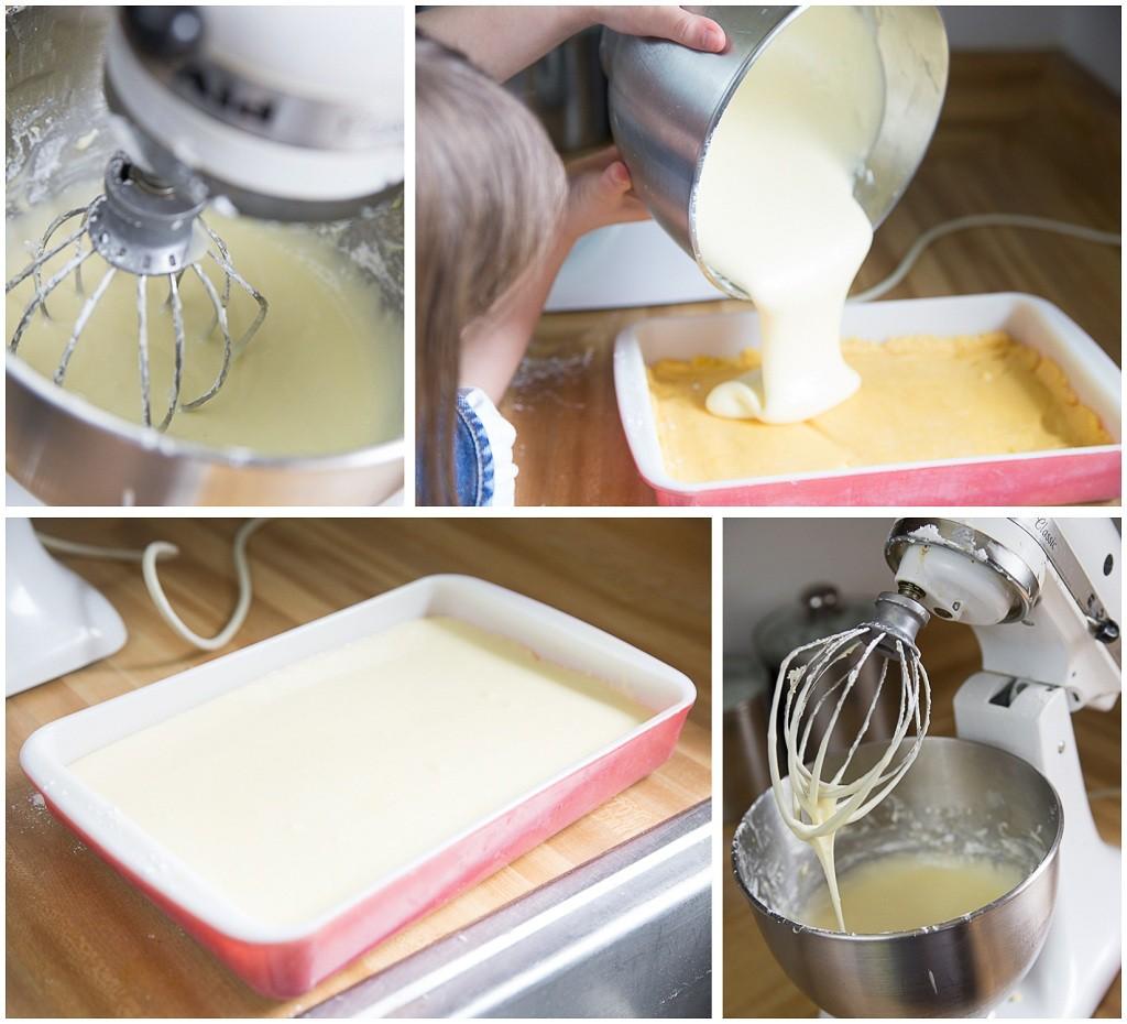 Baking Yellow Cake